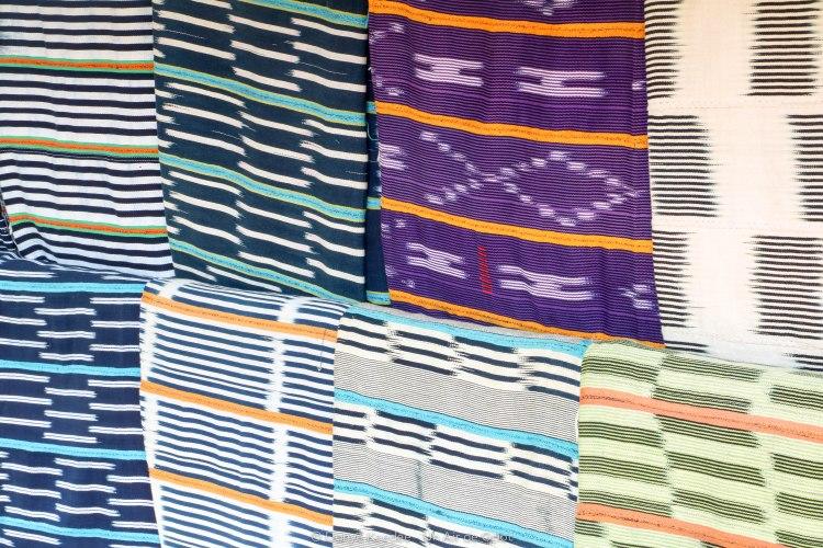 Tissus traditionnels Baoulé, Côte d'Ivoire