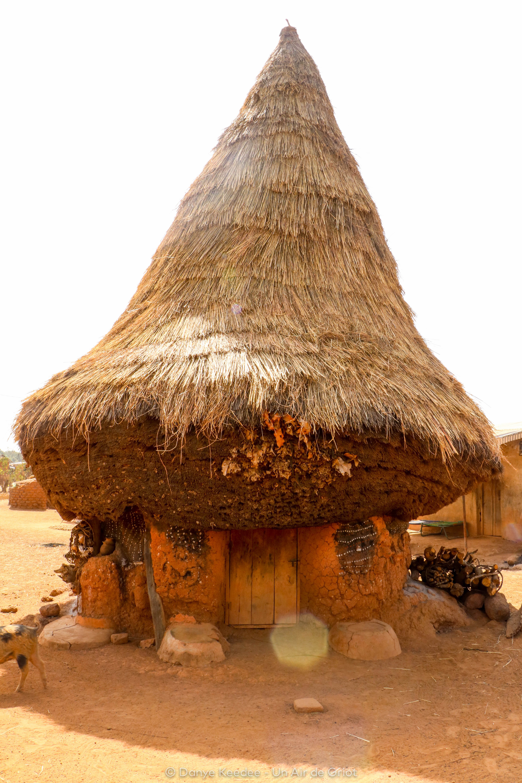 Case des fétiches, Niofoin, Région de Korhogo, Côte d'ivoire