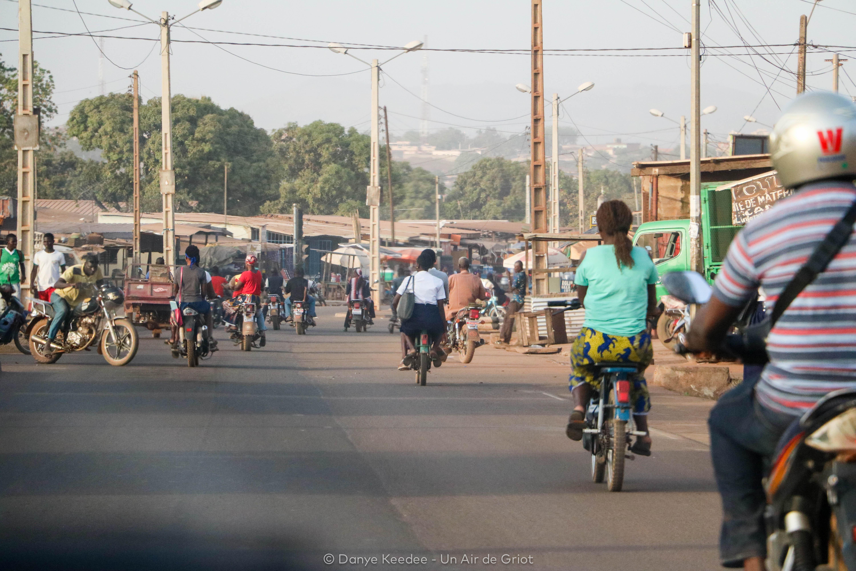 Ville de Korhogo, Côte d'ivoire