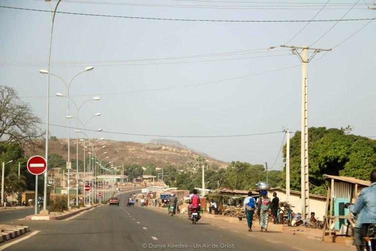 Vue sur le Mont Korhogo, Ville de Korhogo, Côte d'ivoire